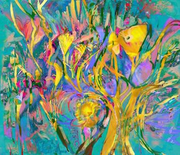 Artwork by Elaine Balderston